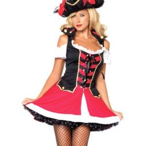 Pirate costume size small women